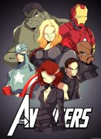 Avengers assemble! by Nicohitoride