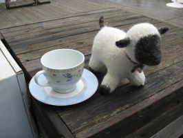 Care for a Spot of Tea? by WenchFaery