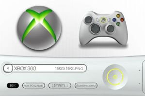 XBOX 360 by SLiMspaceman