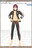 MMD Newcomer Rin A by Esdras18