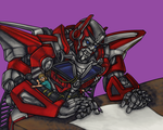 Sentinel gets help with his Christmas list by RazzieMbessai