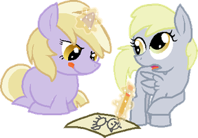 Whatcha Drawing, Sis'? by StarryOak