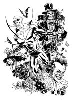 Happy Deadman Halloween by deankotz