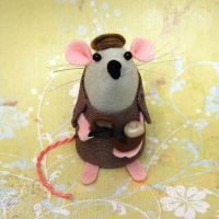 Sherlock Holmes Mouse by The-House-of-Mouse