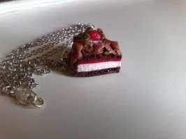 Black Forest Necklace No2 by PinkCakes
