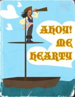 Ahoy Me Hearty by umetnica