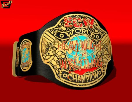 The ECW Championship by ImfamousE