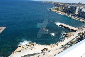 View of Sliema from Above by apokalupsis