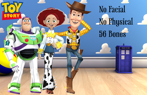 MMD Toy Story Pack 3 Download by frede15