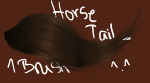 1 Tail Brush by Molly2102