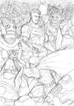 Justice League vs Parademons by Axel2396