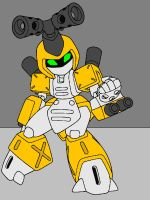Medabots: Metabee by Alondra-chui