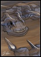 Steelix in Sandstorm by pokemon-master