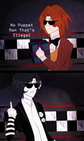 No Puppet Man That's Illegal + Lame Animation :v by Ailurophile-Chan