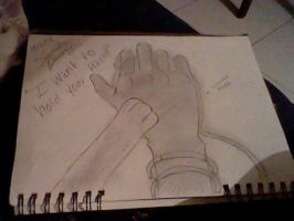 I want to hold your hand by Dimitra012