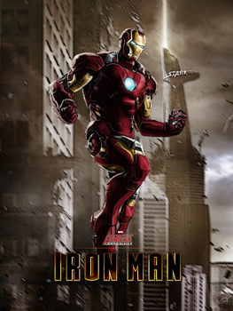Iron Man - Marvel Avengers Alliance poster by P-DB