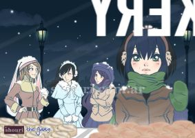 the gang - Winter by ShouriMajo