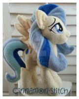 My little pony Sunshower Plush by CINNAMON-STITCH