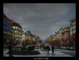 Ghosts in the city by shytiha