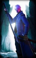 Son of Sparda ( Verjil)-DMC4 by kingofshadows26