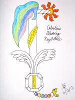 Celestia's Blessing Keyblade by JazzyTyfighter