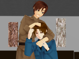 _MMD_ Brothers by xXHIMRXx