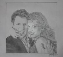 Castle and Beckett by yenn1989