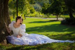 Princess in the Park. by PixelJPhotography