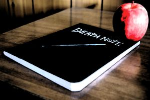 The Death Note by garretmasterthief
