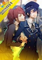 DKM 13: Rise + Naoto by IMAKINATION