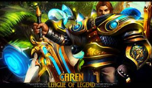 Garen signature by LaxOrder