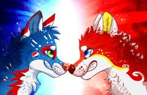 Pepsi VS Coca-Cola by seductive-woof