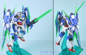 Gundam 00Q Full Saber 2 by Bang-Doll-SSI