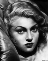 Lana Turner by mwford