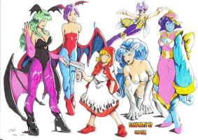 DARKSTALKERS WOMEN by Dani-Castro