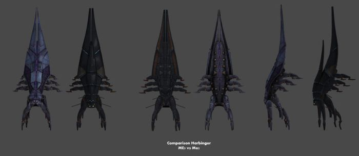 Comparison Harbinger Class (by Request) by nach77