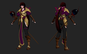 Warlock - WIP2 by Cless-Aurion