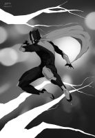 Black Panther v1#redesigned_heroes by dorets
