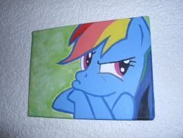 Rainbow Dash is not amused by Marcoon1305