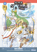 Super Smash Bros poster 8 - Kid Icarus PREV by MTC-Studio