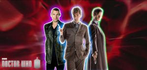 Doctor Who - New Who Wallpaper by OptimumBuster
