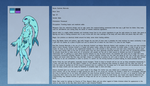 Personal Character Ref and Bio, Sumiree the Zora by The-Clockwork-Crow