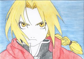 Edward Elric by ELM-Zwemmer