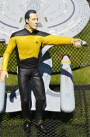 Star Trek Data Painted Figure by Phoenix001