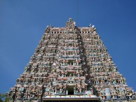 Hindu Temple by hotmetal53