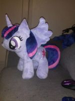 Twilight Sparkle Plush by inudewaruika