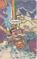oh, no, superman! by beehivesandbouffants