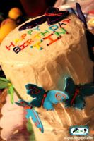 Rainbow Butterfly Cake3 by SugiAi