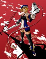 Noel Vermillion by glance-reviver
