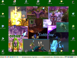 My current WoW desktop by loezzy